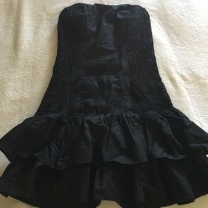 French Connection black tube dress size 6